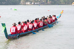 Hua Hin Long Boat Competition 2011 Royalty Free Stock Photos