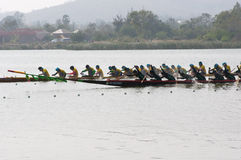 Hua Hin Long Boat Competition 2011 Stock Images