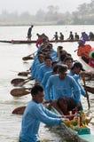 Hua Hin Long Boat Competition 2011 Royalty Free Stock Photo