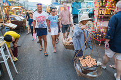 Hua Hin night market Stock Photo