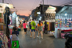 Hua Hin night market Stock Image