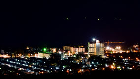 Hua Hin nightscape Thailand Royalty Free Stock Photos
