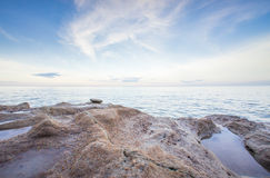 Hua hin plaży piękny moment zdjęcie stock