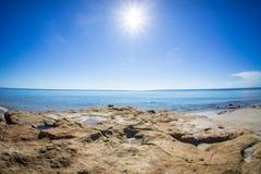 Hua hin plaży piękny moment 1 obrazy stock
