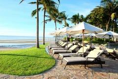 Hua Hin plaży strona Zdjęcia Stock