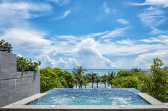 Hua Hin Private Jacuzzi Royalty Free Stock Images