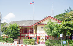 Hua Hin Railway Police Station Stock Photo