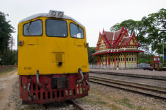 Hua Hin Railway Station Stock Photo