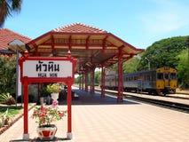 Hua Hin Railway station Royalty Free Stock Photos