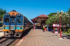 Hua Hin railway station Stock Images