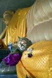Hua Hin Reclining Buddha 02 Royalty Free Stock Photography