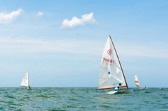 Hua Hin Regatta 2012, sailing competition Stock Images