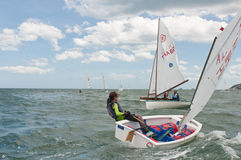 Hua Hin Regatta 2012, sailing competition Royalty Free Stock Image