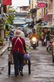 Hua Hin Street Scene Royalty Free Stock Photo