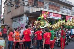 Hua Hin, Tailandia - 18 de febrero de 2015: Ji de la celebración de la gente tailandesa Fotografía de archivo libre de regalías