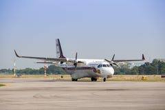 Hua Hin, Tailandia octubre 31,2017: CASA/IPTN CN-235-220M Royal T fotos de archivo libres de regalías