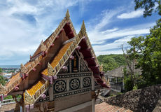 Hua Hin Temple 11. A buddhist temple situated in the city of Hua Hin in Thailand royalty free stock images