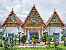 Hua Hin Temple 32. A buddhist temple situated in the city of Hua Hin in Thailand stock photography