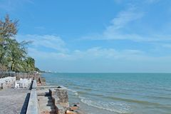 Hua Hin In Thailand Stock Photo
