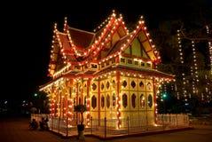 Hua Hin, Thailand: Koninklijke Wachtkamer bij Station Royalty-vrije Stock Foto
