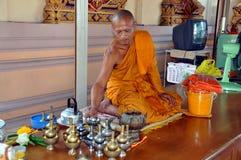 Hua Hin, Thailand: Monk at Temple Stock Photography
