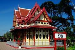 Hua Hin, Thailand: Royal Waiting Room at Railway Station Royalty Free Stock Photo