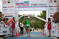 Hua Hin Triathlon competition Royalty Free Stock Photography