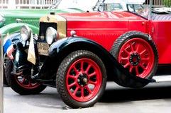 Hua Hin Vintage Car Parade  2011 Royalty Free Stock Photo