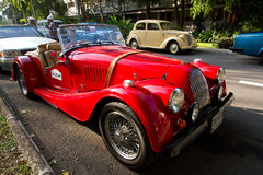 Hua Hin Vintage Car Parade 2011 Royalty Free Stock Images