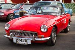 Hua Hin Vintage Cars Parade Festival 2011 stock photo