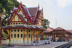 Hua--Hinbahnstation Stockfoto
