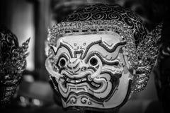 Hua Khon (тайская традиционная маска) Стоковое Изображение