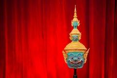 Hua Khon (тайская традиционная маска) Стоковые Фото