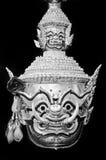 Hua Khon (Ancient Thai Show Mask) Royalty Free Stock Photography