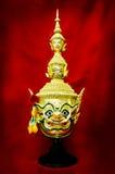 Hua Khon (Ancient Thai Show Mask) Royalty Free Stock Photos