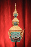 Hua Khon (máscara tradicional tailandesa) Foto de Stock Royalty Free