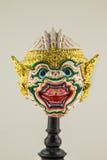 Hua Khon (Tajlandzka Tradycyjna maska) zdjęcia stock