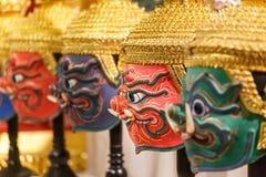 Hua Khon (Thai Traditional Mask) Stock Image