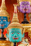 Hua Khon (Thai Traditional Mask) Royalty Free Stock Photo