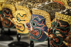 Hua Khon (Thai Traditional Mask) Royalty Free Stock Images