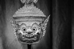 Hua Khon (Thai Traditional Mask) Stock Image