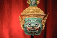 Hua Khon (Thai Traditional Mask) Royalty Free Stock Photography