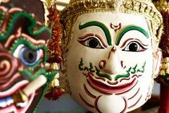 Hua Khon (Thai Traditional Mask) Used in Khon Stock Photo