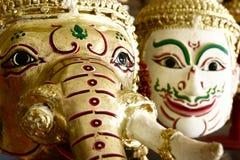 Hua Khon (Thai Traditional Mask) Used in Khon Royalty Free Stock Image