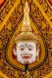 Hua Khon (thailändische traditionelle Maske) Stockfotos