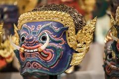 Hua Khon (thailändische traditionelle Maske) Lizenzfreie Stockfotografie