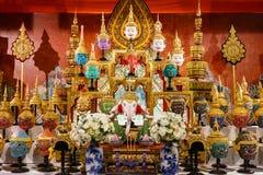 Hua Khon (thailändische traditionelle Maske) Stockfotografie