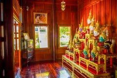 Hua Khon Używać w Khon - Tajlandzki tradycyjny taniec (Tajlandzka Tradycyjna maska) zdjęcia stock