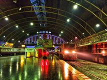 Hua Lam Pong Train Station Lizenzfreie Stockbilder
