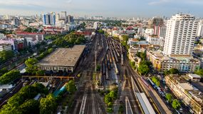 Hua Lamphong Bangkok Image stock